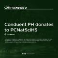 [Campus News] Conduent PH donates to PCNatSciHS