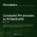 [Campus News] Conduent PH donates to PCNatSciHS