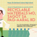"[Campus News] Brigada Eskwela Project: ""Recyclable Materials Mo, Sagot sa Pag-aaral Ko!"""